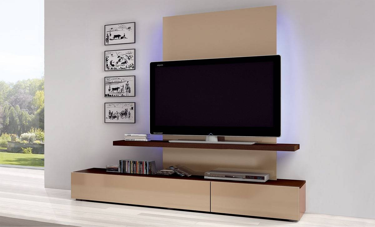 Awesome Tv Wall Cabinet Design Ideas | Home Decorating Ideas With Modern Lcd Tv Cases (View 7 of 15)
