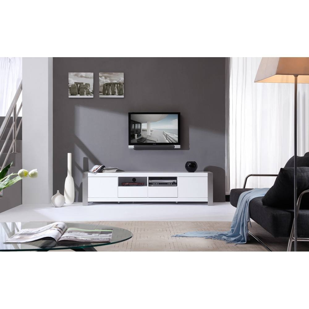 B-Modern Composer Tv Stand | White High-Gloss, B-Modern - Modern in White High Gloss Tv Stands (Image 2 of 15)