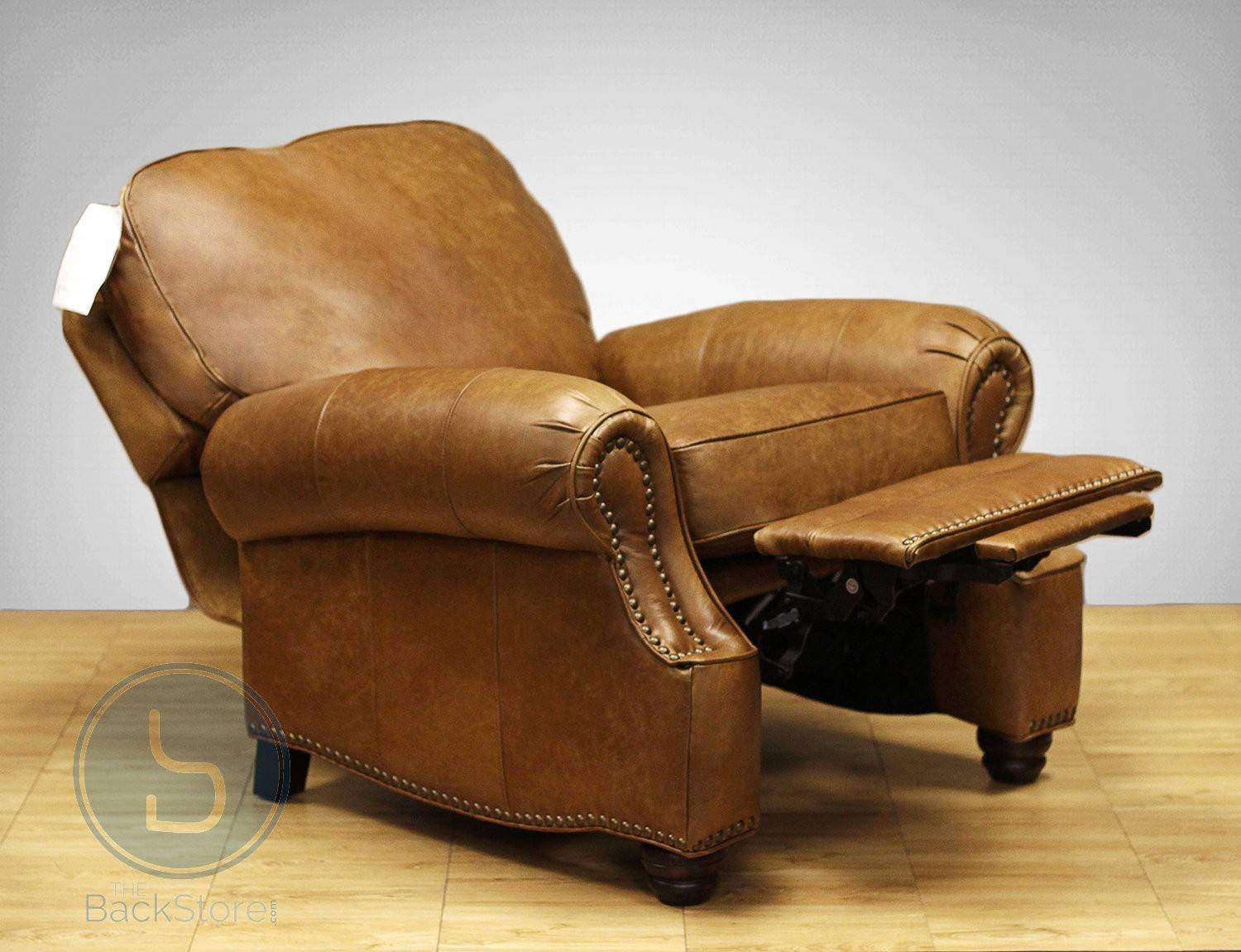 Barcalounger Longhorn Ii Leather Recliner Chair throughout Barcalounger Sofas (Image 8 of 15)