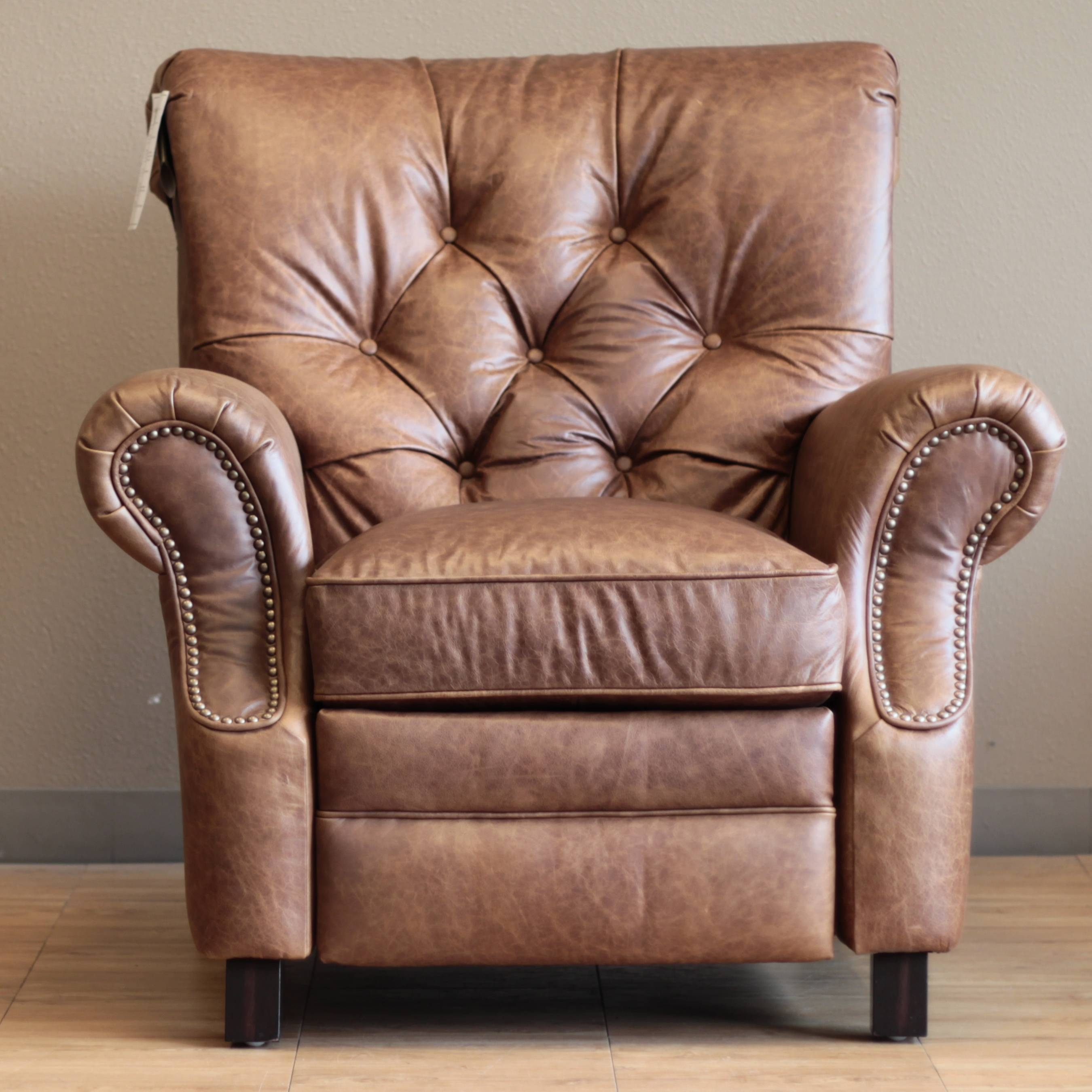 Barcalounger Phoenix Ii Recliner Chair - Leather Recliner Chair intended for Barcalounger Sofas (Image 9 of 15)