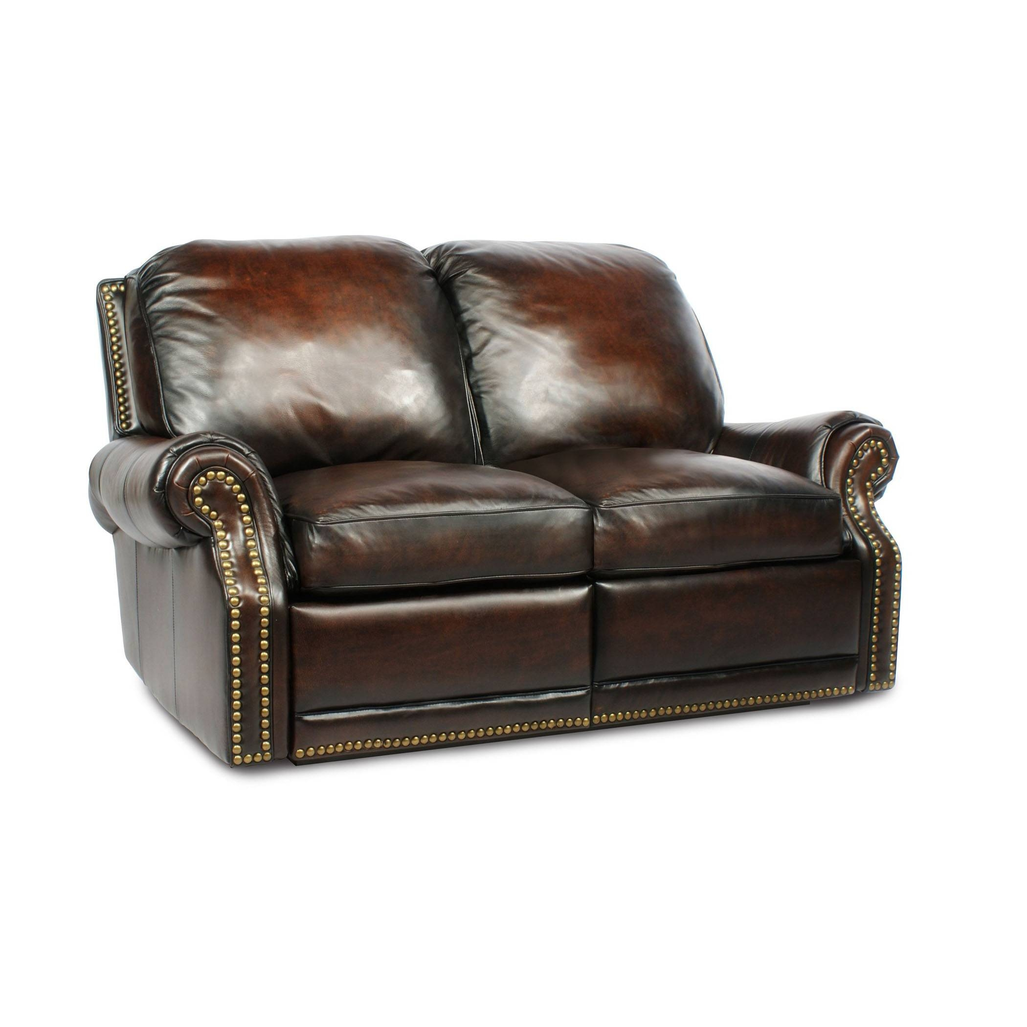 Barcalounger Premier Ii Leather 2 Seat Loveseat Sofa - Leather 2 within Barcalounger Sofas (Image 12 of 15)