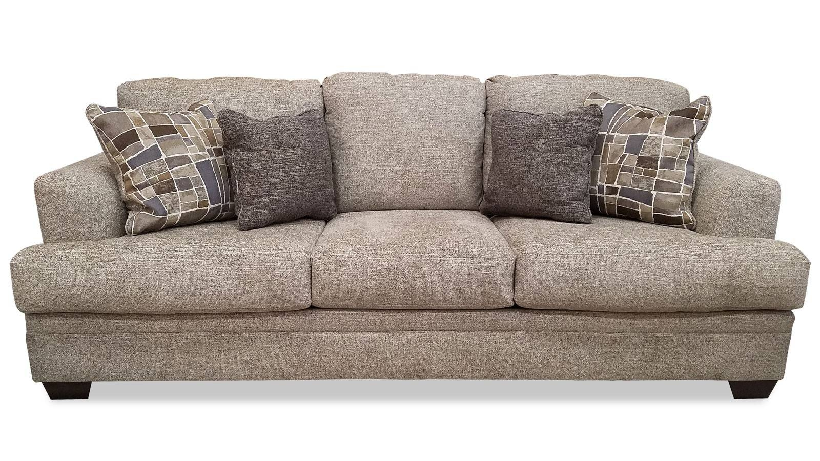 Barrish Sisal Sofa | Gallery Furniture intended for Sofas (Image 2 of 15)