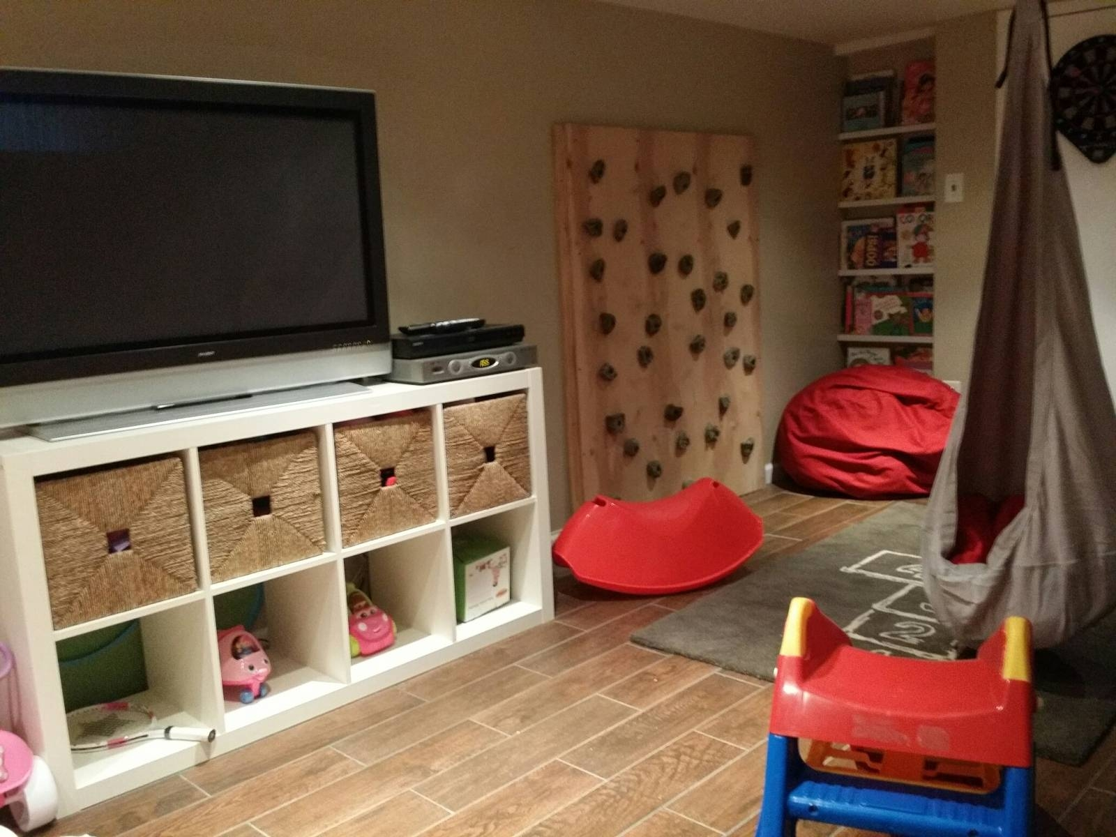 Basement Playroom – Simple Bliss with Playroom Tv Stands (Image 2 of 15)