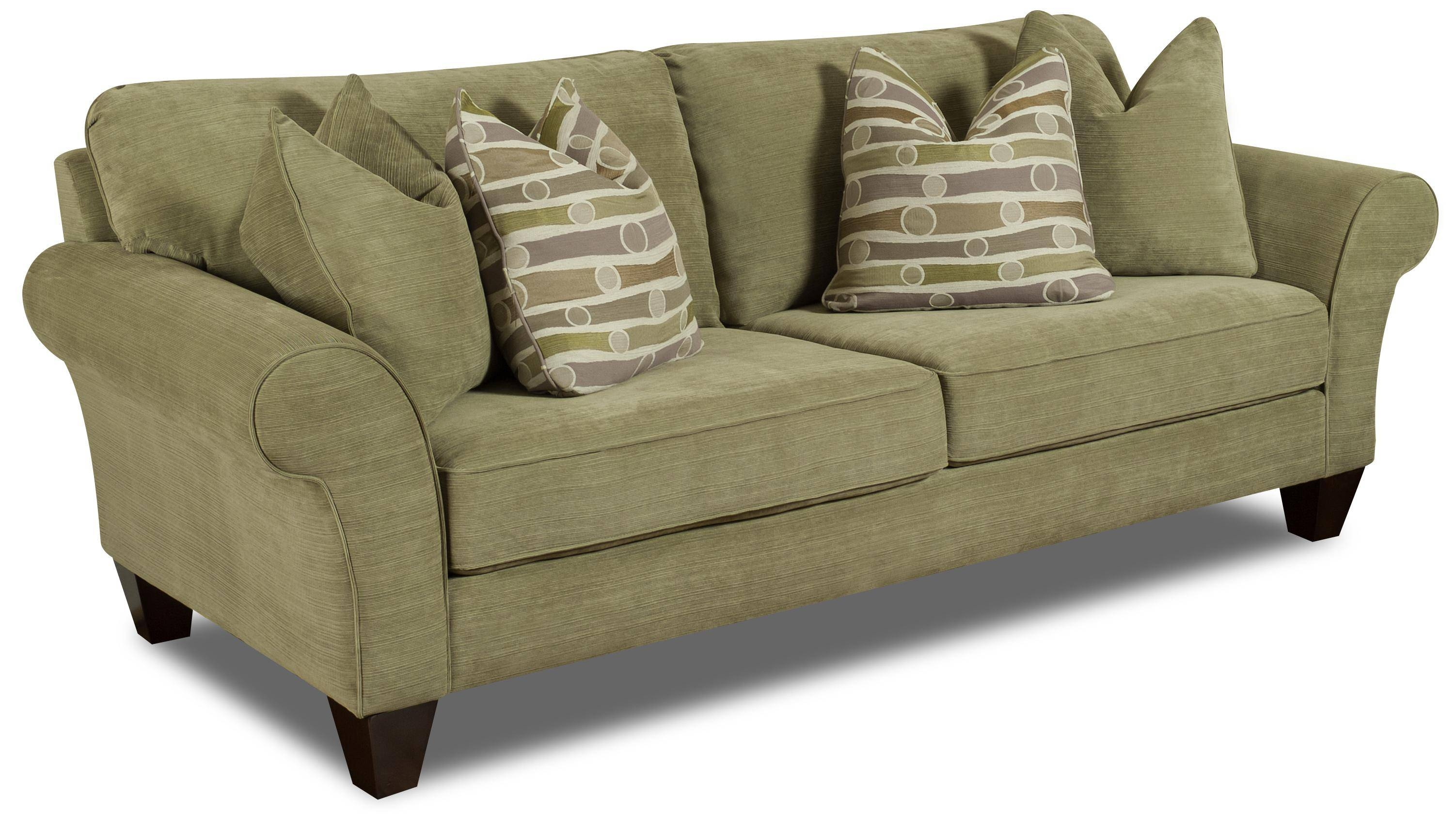 Bauhaus D02 Casual Rolled Arm Stationary Sofa With Thick Exposed inside Bauhaus Furniture Sectional Sofas (Image 3 of 15)
