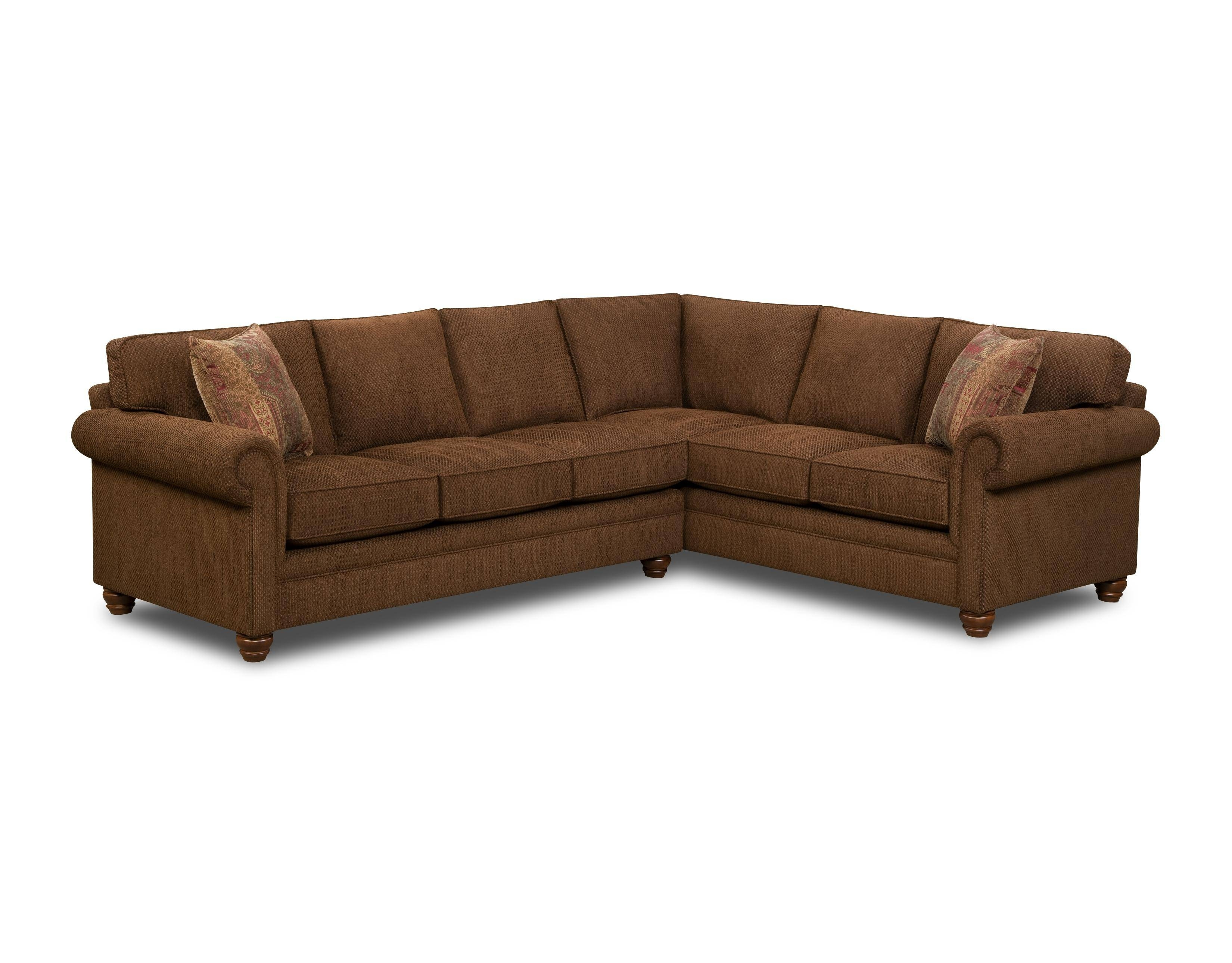 Bauhaus Z18A 2 Piece Traditional Sectional Sofa - Ahfa - Sofa intended for Bauhaus Furniture Sectional Sofas (Image 6 of 15)