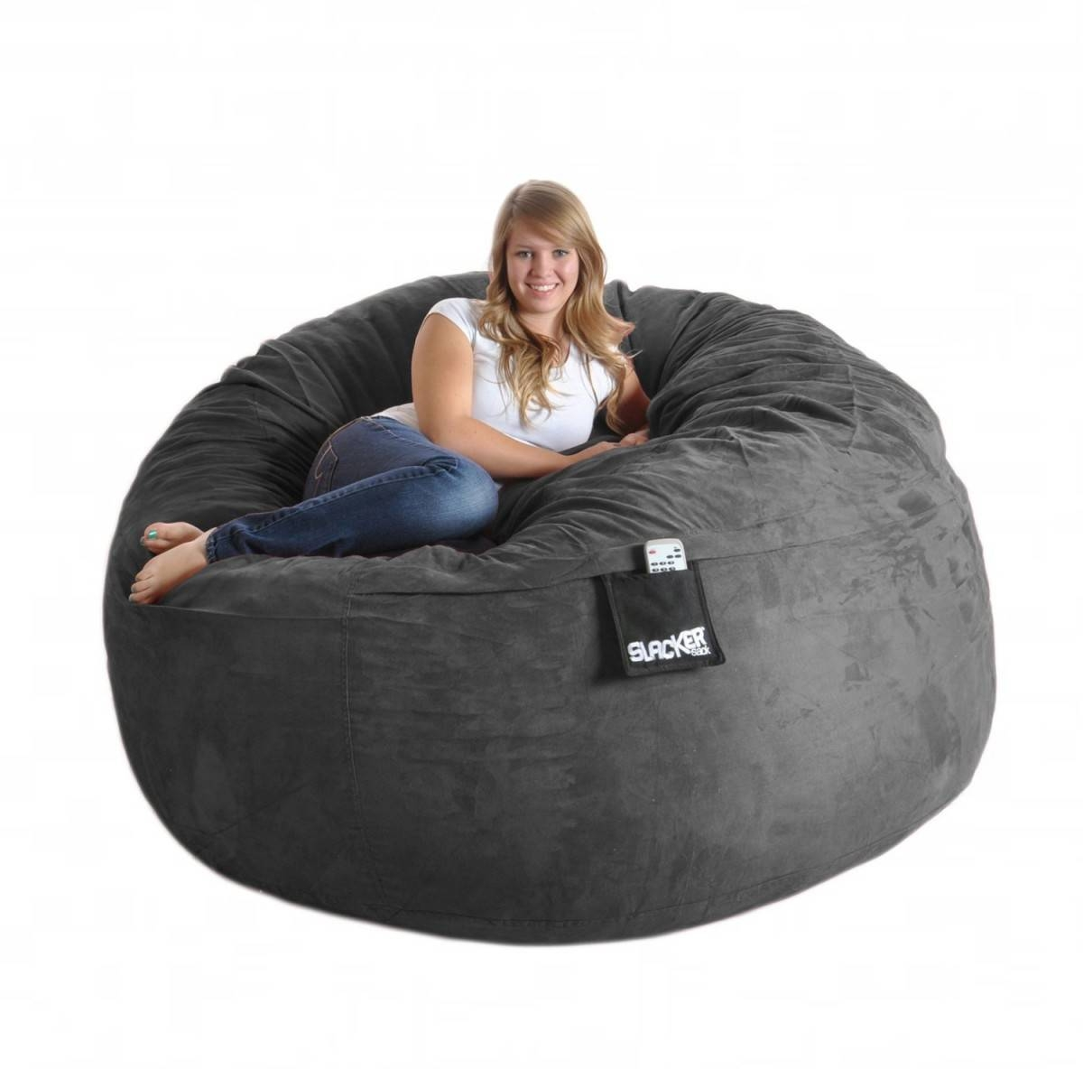 Beautiful Giant Bean Bag Chair In Interior Design For Home With throughout Giant Bean Bag Chairs (Image 2 of 15)