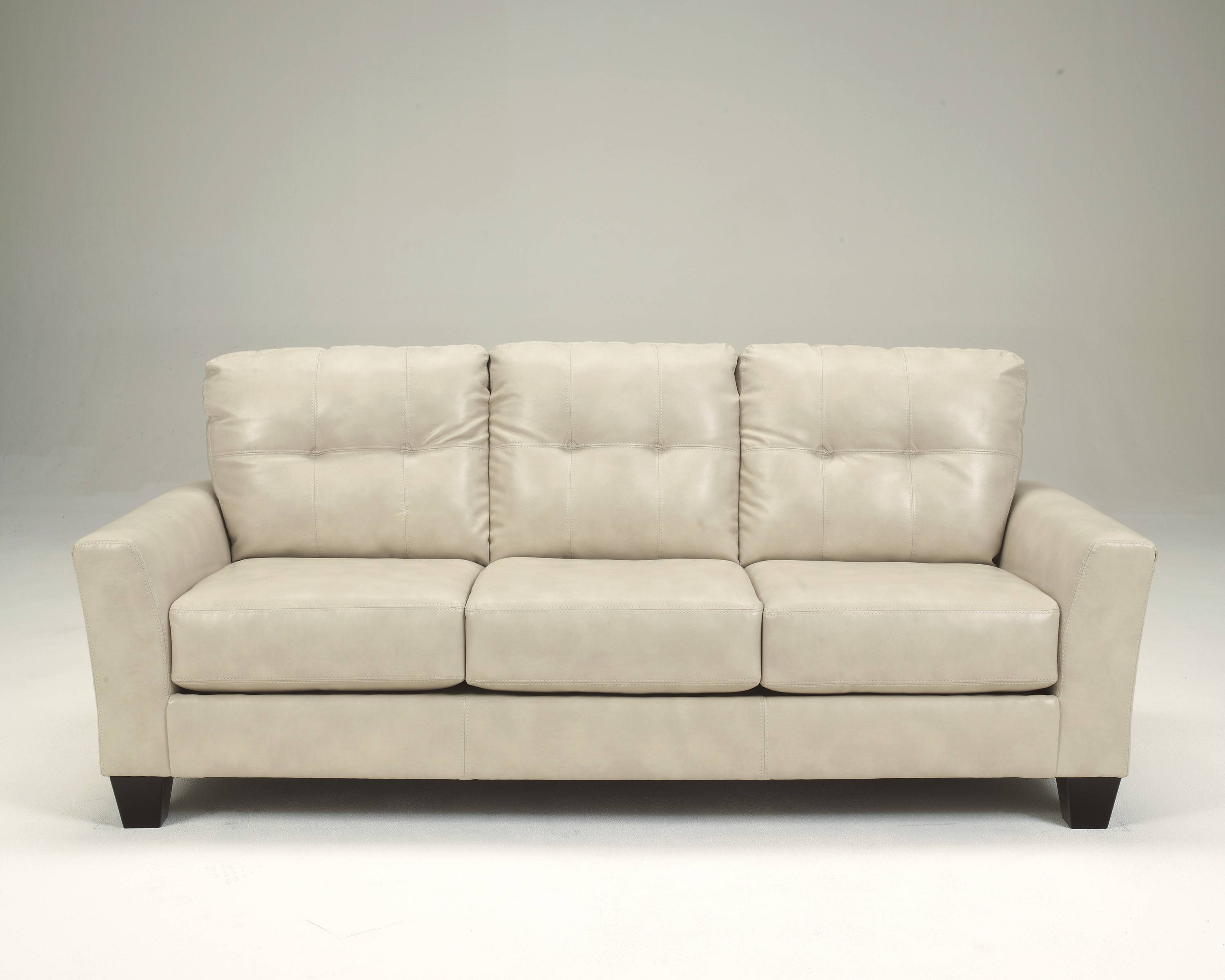 Beautiful Off White Leather Sofa 36 With Additional Sofa Table inside Benchcraft Leather Sofas (Image 1 of 15)