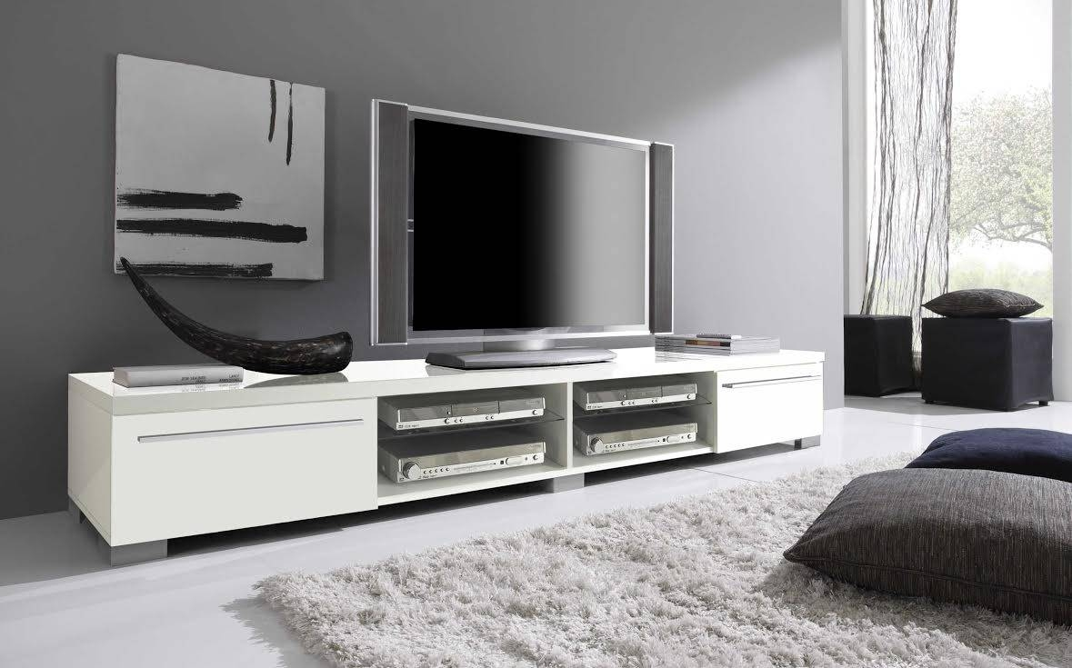 Beautiful White Tv Stands For Flat Screens 81 With Additional Home inside Long White Tv Cabinets (Image 3 of 15)