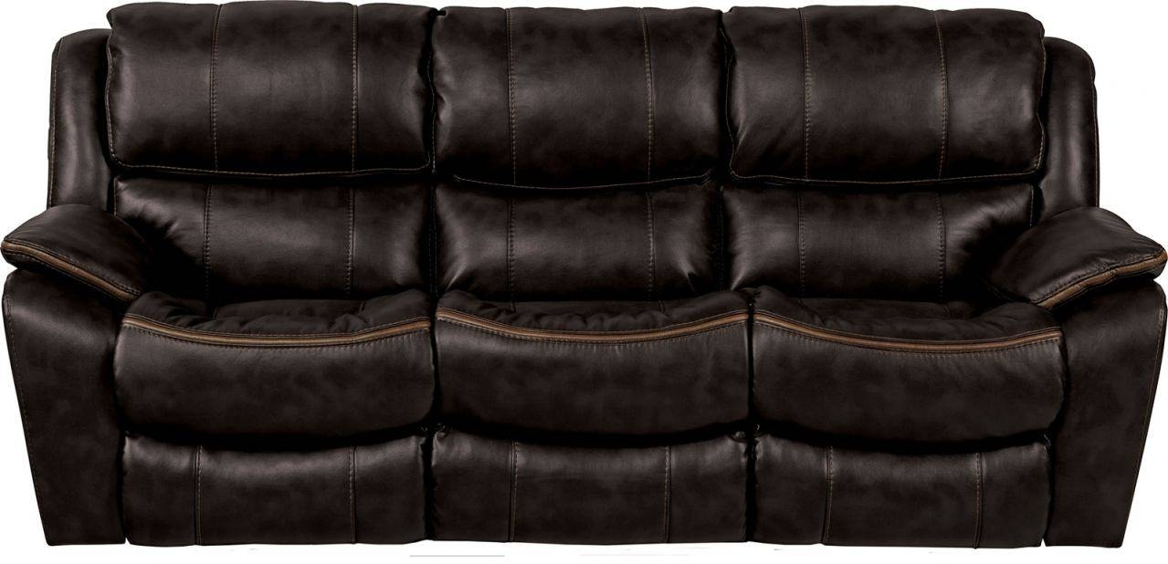 Beckett Reclining Sofa In Black 4511 pertaining to Catnapper Reclining Sofas (Image 2 of 15)
