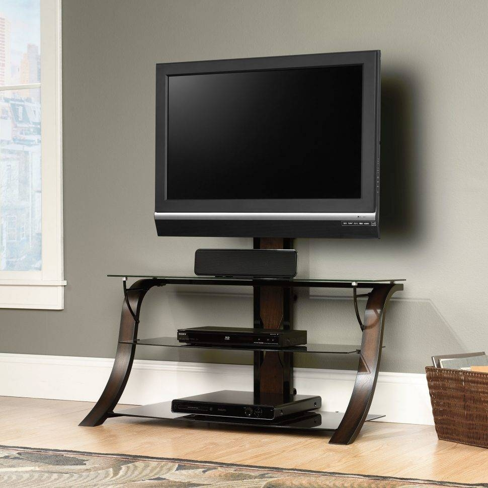 Bedroom : Dark Wood Tv Stand Universal Tv Stand Corner Tv Unit Tv regarding Dark Wood Tv Stands (Image 1 of 15)