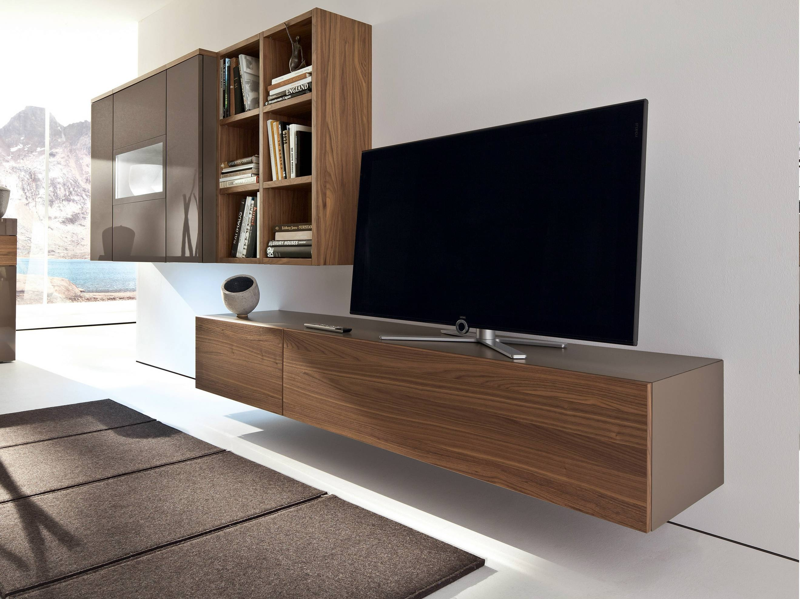 Bedroom : Modern Tv Units Tv Wall Design Wooden Tv Table Tv Stand regarding Modern Wall Mount Tv Stands (Image 2 of 15)
