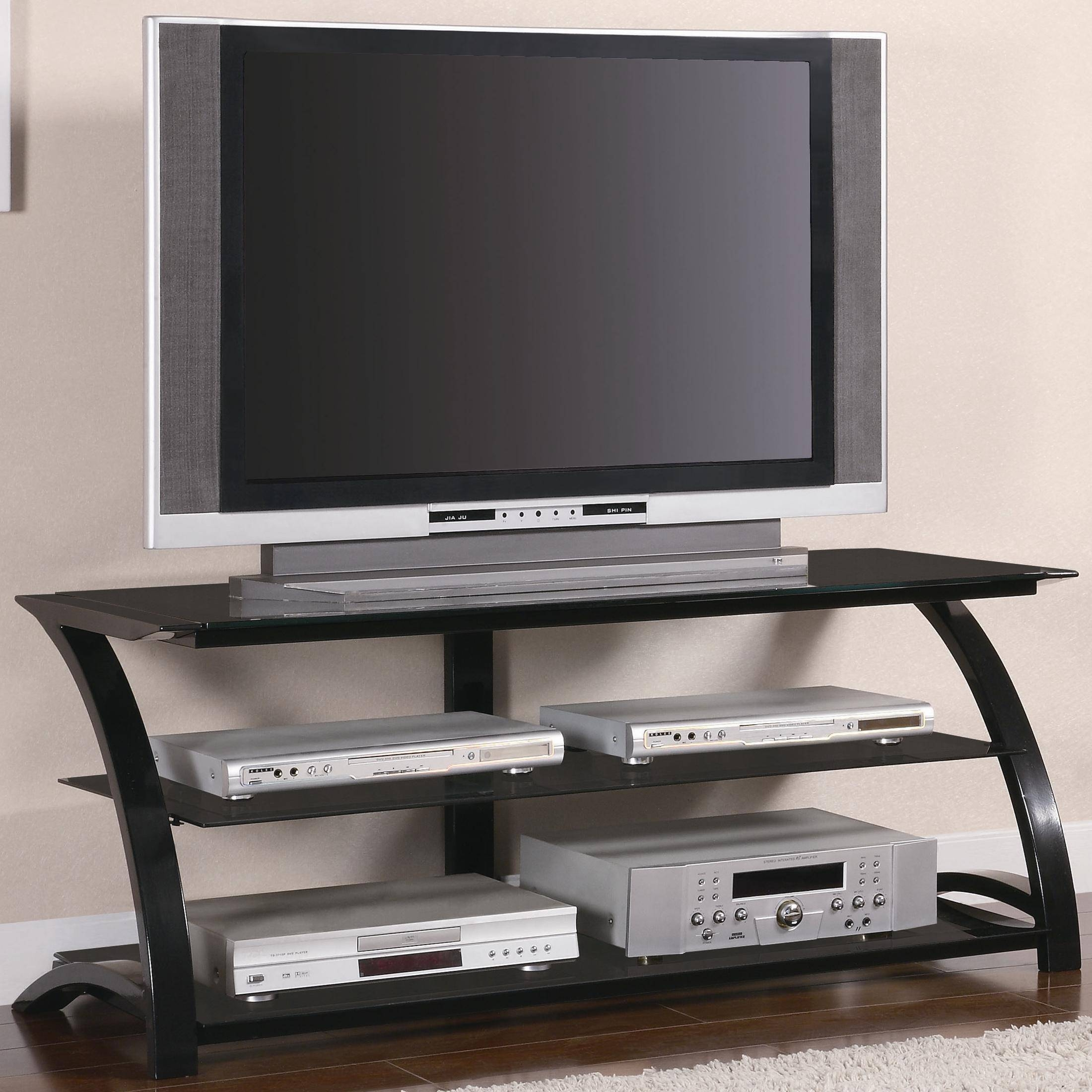 Bedroom : Tv Stand For 50 Inch Tv 65 Inch Tv Stand Black Tv in Unique Corner Tv Stands (Image 1 of 15)