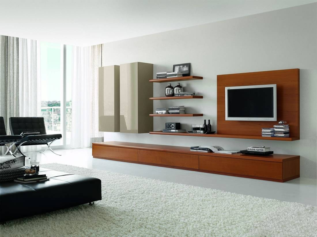 Bedroom Tv Stand Modern Entertainment Units Tv Cabinet Furniture Within Wall Display Units And Tv Cabinets (View 13 of 15)