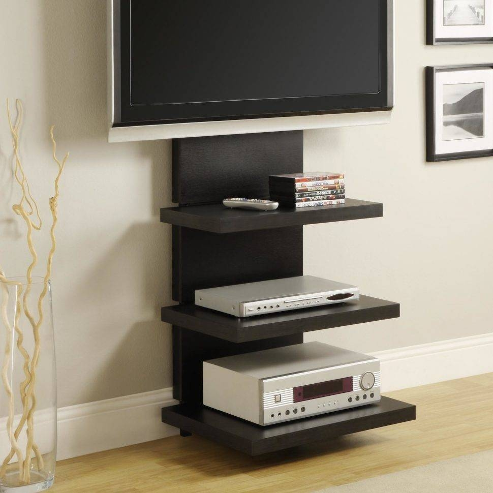 Bedrooms : Corner Tv Stand Tv Stand With Mount Small Corner Tv with Bedroom Tv Shelves (Image 9 of 15)