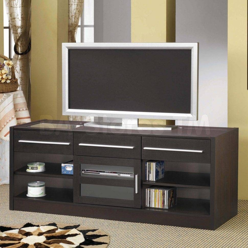 Bedrooms : Entertainment Stand Cheap Tv Stands Tv Console Black Tv intended for Tall Black Tv Cabinets (Image 5 of 15)