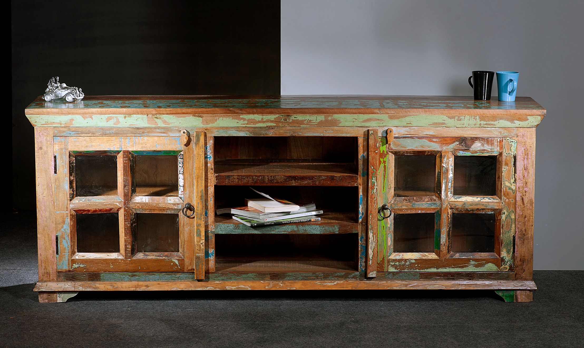 Beech Tv Cabinets With Doors | Memsaheb intended for Wooden Tv Cabinets With Glass Doors (Image 1 of 15)