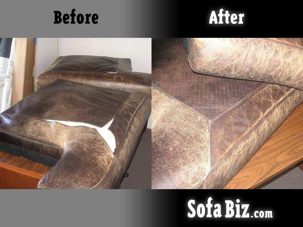 Before And After - Sofa Biz regarding Reupholster Sofas Cushions (Image 2 of 15)
