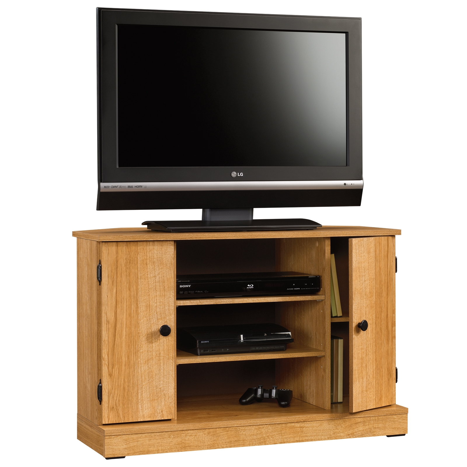 Popular Photo of Cheap Wood Tv Stands
