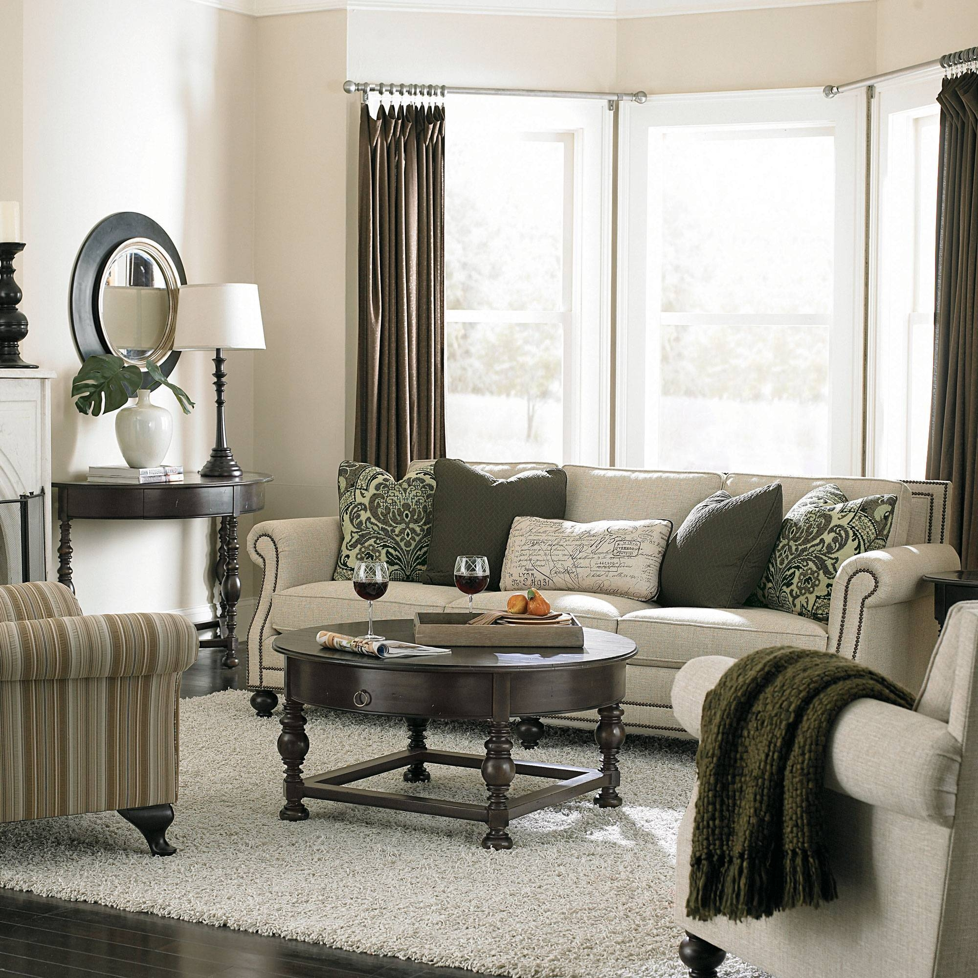 Bernhardt Furniture Brae Sofa | Centerfieldbar within Bernhardt Brae Sofas (Image 6 of 15)