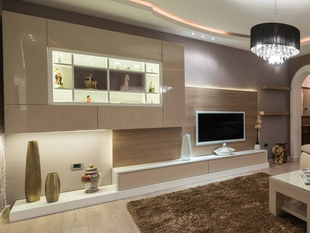 Bespoke Tv Units With Led Lights   Bespoke Furniture   Fitted Regarding Bespoke Tv Cabinets (View 4 of 15)