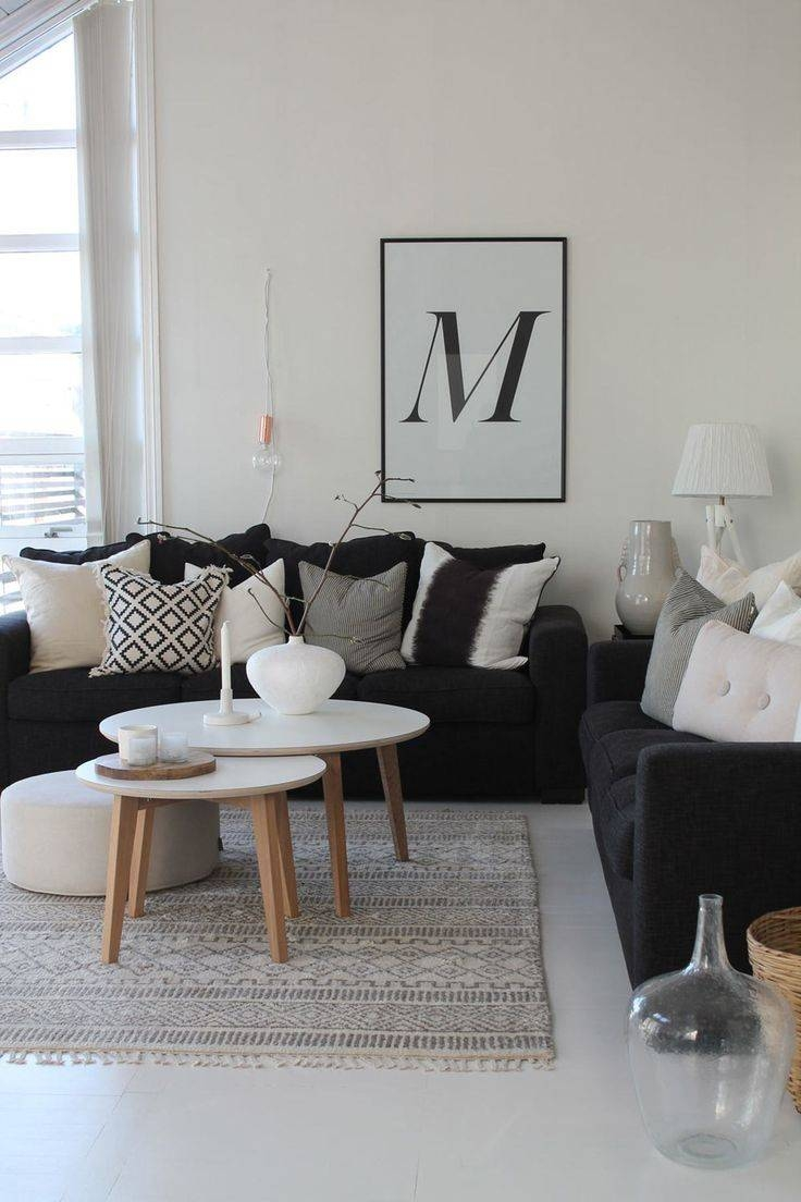 Featured Photo of Black Sofas Decors
