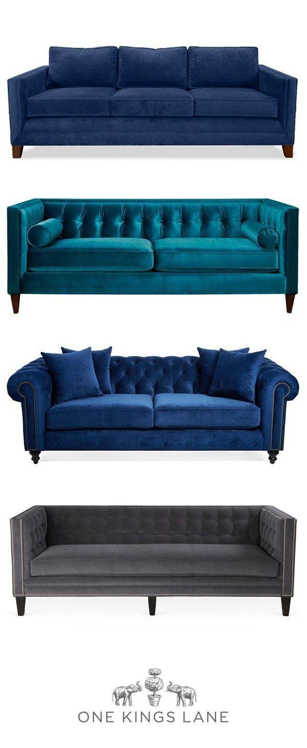 Best 25+ Blue Sofas Ideas On Pinterest | Sofa, Navy Blue Couches within Luxe Sofas (Image 4 of 15)