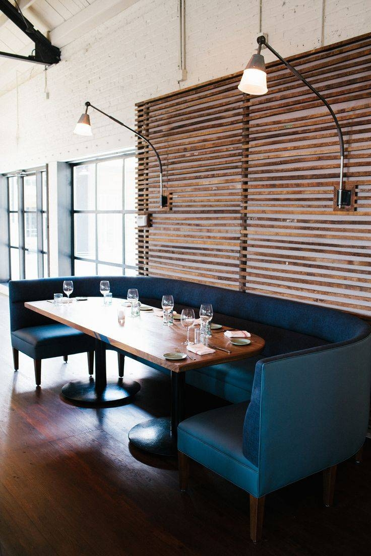 Best 25+ Booth Seating Ideas On Pinterest | Restaurant Design within Banquette Sofas (Image 8 of 15)