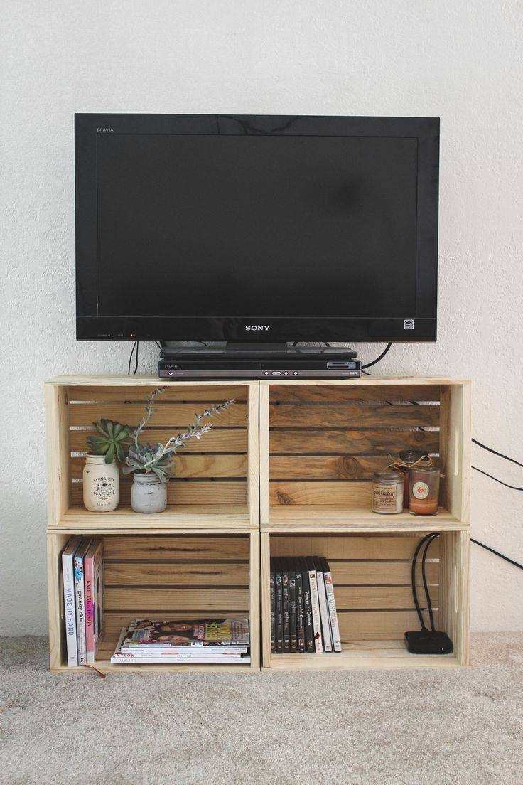 Best 25+ Crate Tv Stand Ideas On Pinterest | Wooden Tv Stands, Tv Inside Telly Tv Stands (View 2 of 15)