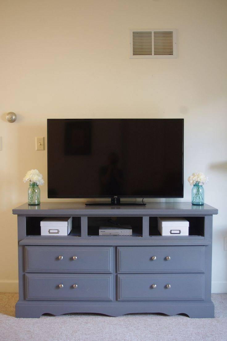 Best 25+ Dresser Tv Stand Ideas On Pinterest | Diy Furniture Redo within Upright Tv Stands (Image 3 of 15)