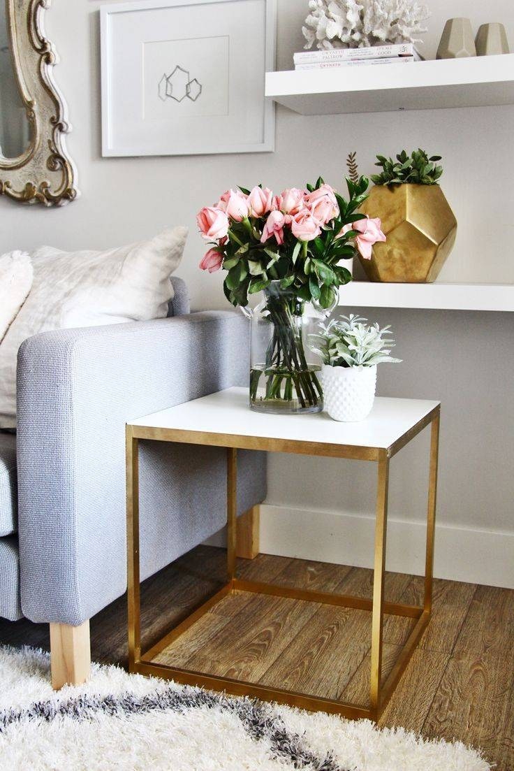 Best 25+ Gold Table Ideas On Pinterest | Gold Furniture, Gold intended for Gold Sofa Tables (Image 1 of 15)
