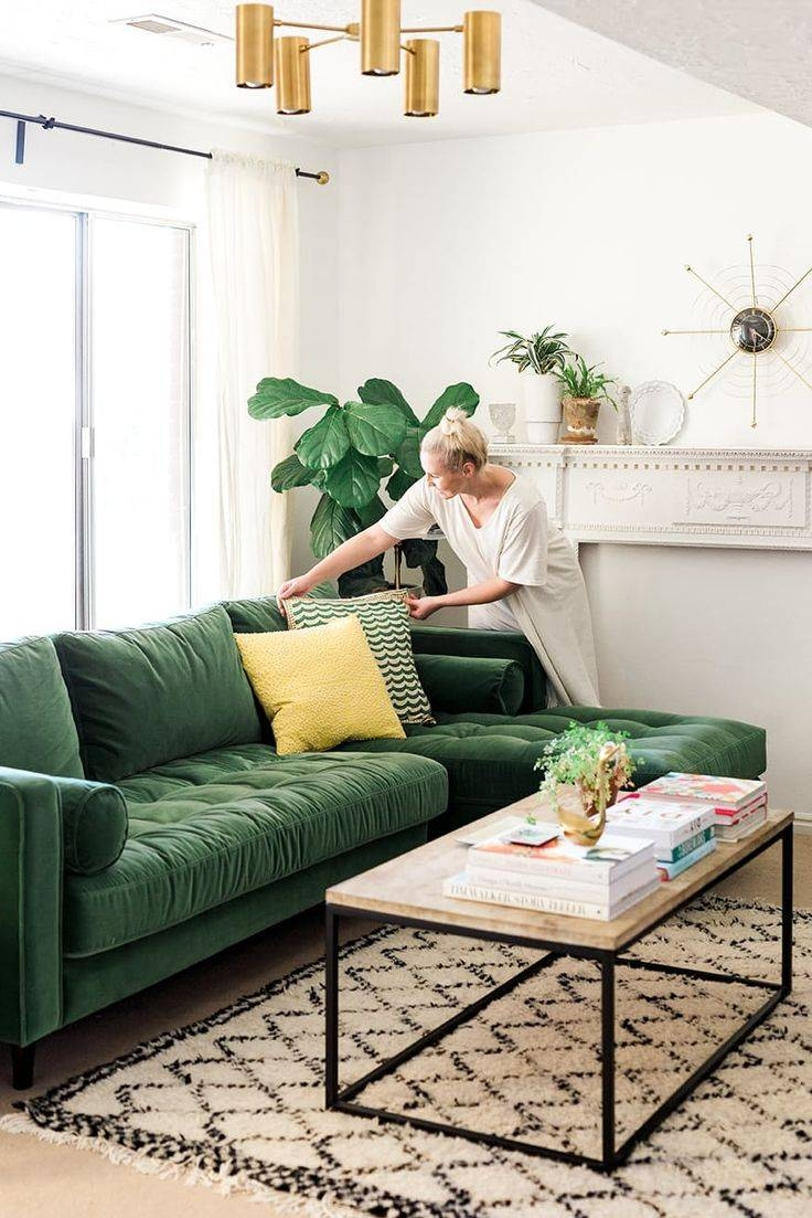 Living room mint green - Best 25 Green Sofa Ideas On Pinterest Green Living Room Sofas Intended For Mint