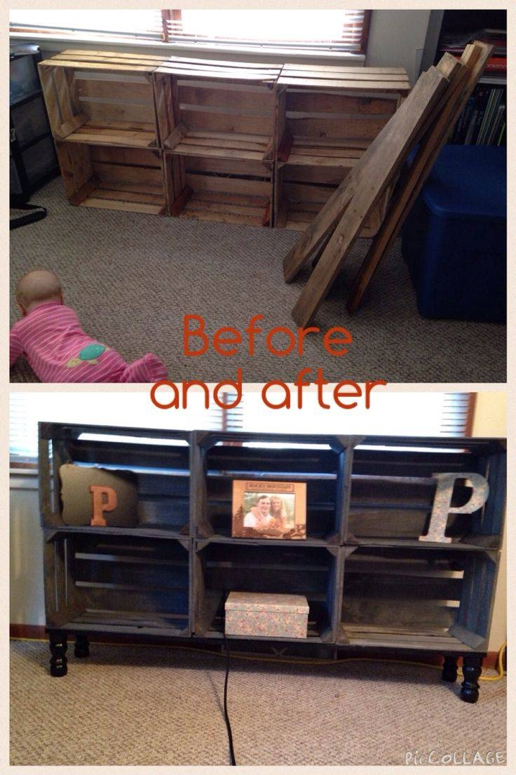 Best 25+ Homemade Tv Stand Ideas On Pinterest | Homemade Living within Playroom Tv Stands (Image 4 of 15)