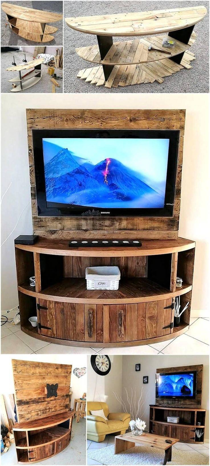 Best 25+ Pallet Tv Stands Ideas On Pinterest | Homemade Coffee With Regard To Tv Stands 38 Inches Wide (View 15 of 15)