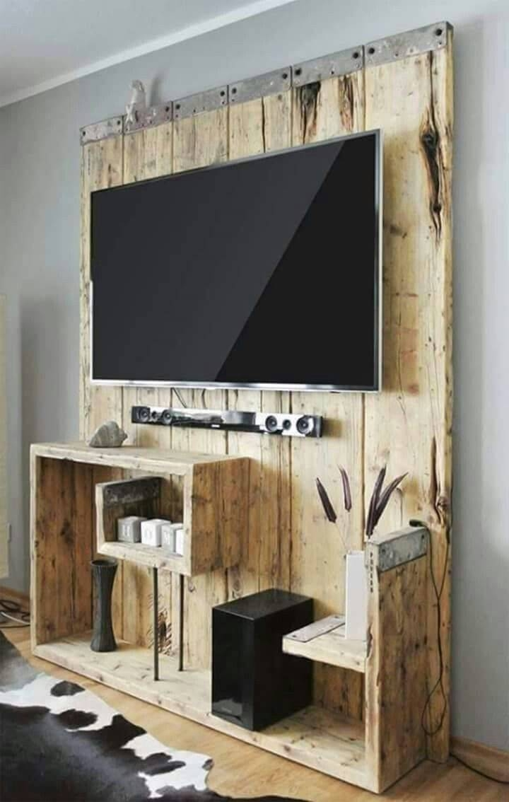 Best 25+ Rustic Tv Stands Ideas On Pinterest | Small Tv Stand Throughout Rustic 60 Inch Tv Stands (View 9 of 15)