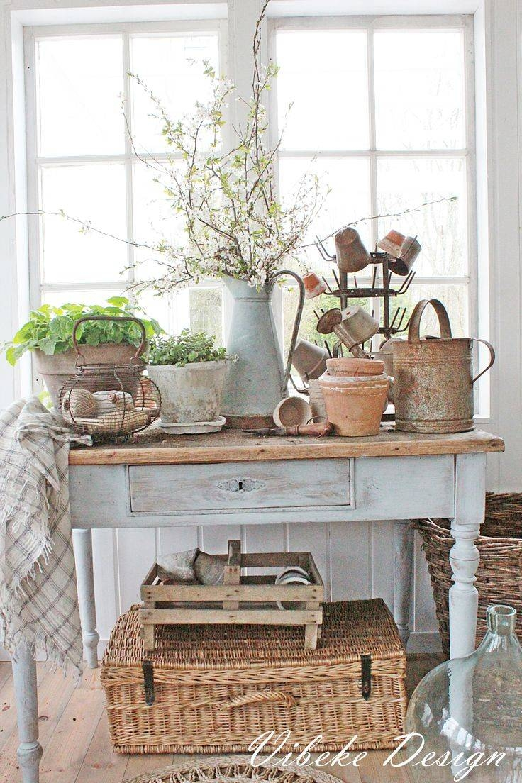 Best 25+ Shabby Chic Console Table Ideas On Pinterest | Pottery regarding Shabby Chic Sofa Tables (Image 3 of 15)