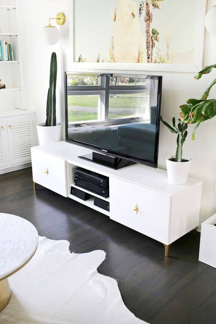 Best 25+ Silver Tv Stand Ideas On Pinterest   Acrylic Side Table Intended For Gold Tv Cabinets (View 6 of 15)