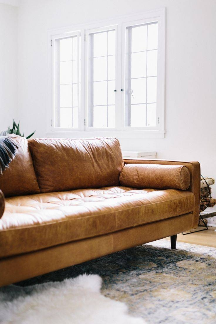 Best 25+ Tan Leather Couches Ideas On Pinterest | Leather Couches In Camel Colored Leather Sofas (View 3 of 15)