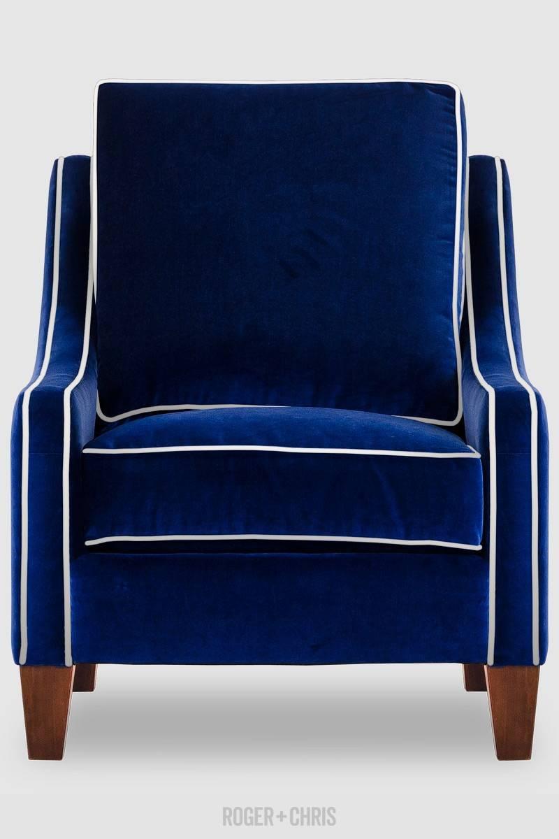 Best Blue Velvet Sofas | Blog | Roger + Chris inside Blue Sofas (Image 6 of 15)
