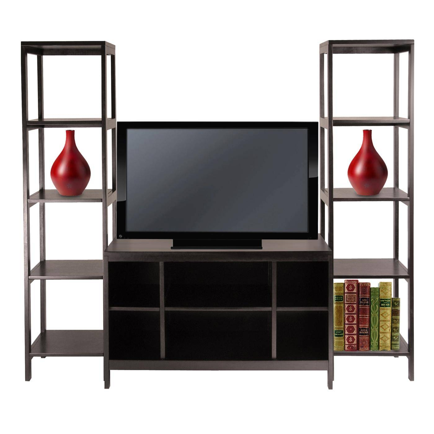 Best Bookcase Tv Stand : Doherty House - Bookcase Tv Stand Furniture with Tv Stands With Matching Bookcases (Image 3 of 15)