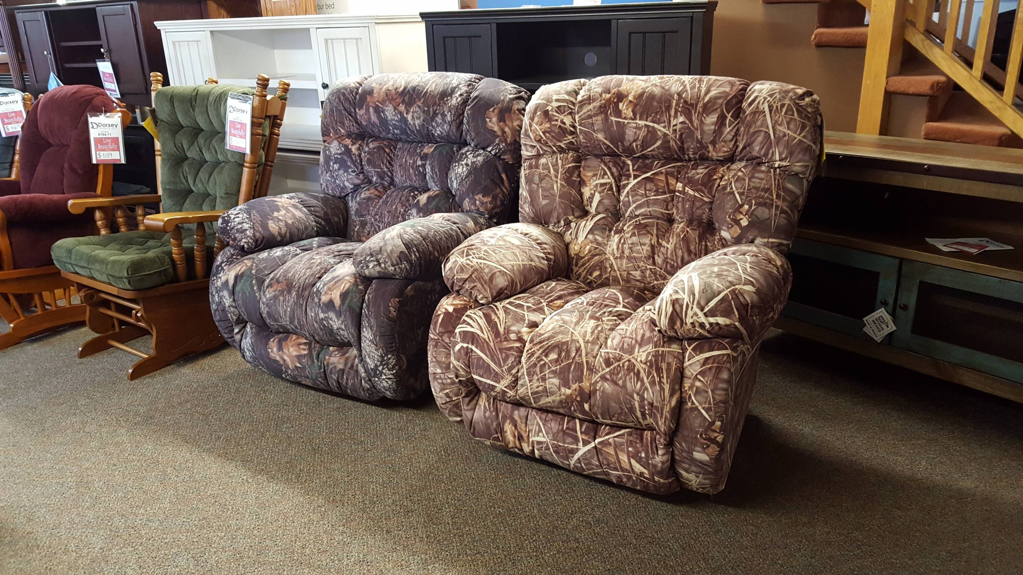 Best Chair Camo Recliners!!! - Furniture Store Bangor, Maine pertaining to Camo Reclining Sofas (Image 2 of 15)