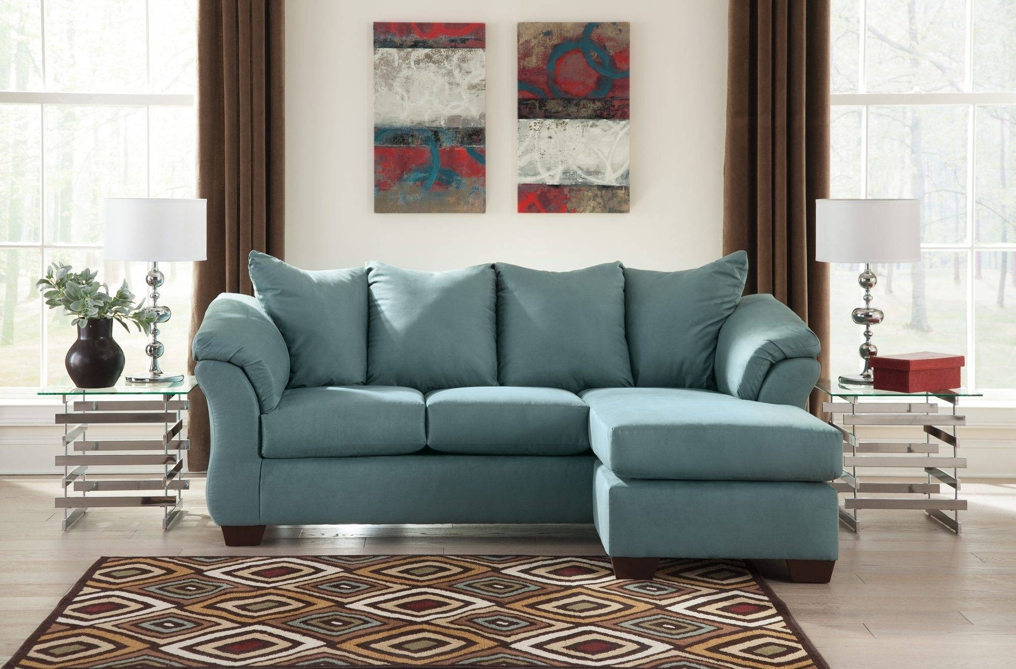 Best Furniture Mentor Oh: Furniture Store - Ashley Furniture within Chaise Sofas (Image 3 of 15)