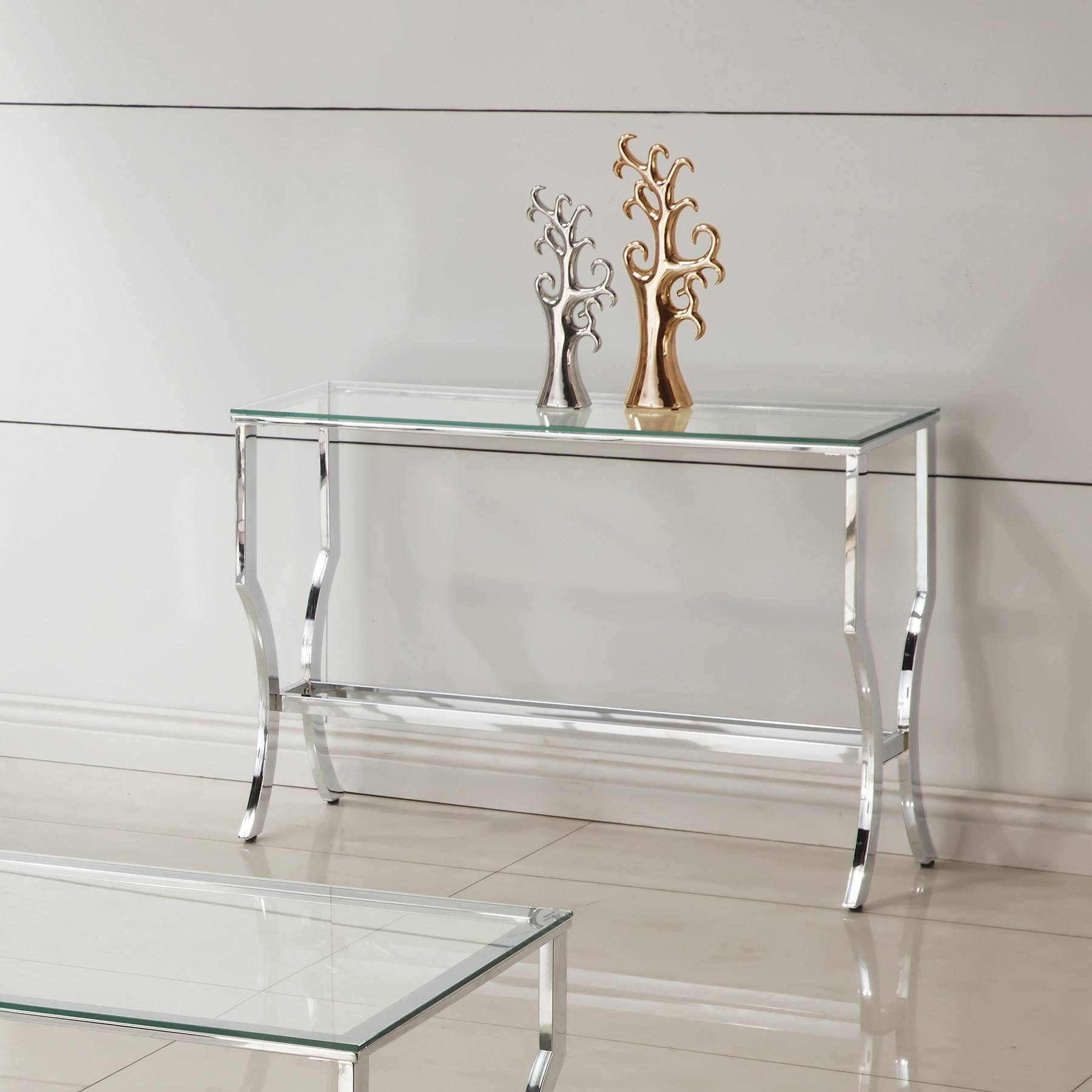 Best Glass Sofa Table 71 On Office Sofa Ideas With Glass Sofa Table Regarding Chrome Sofa Tables (View 1 of 15)