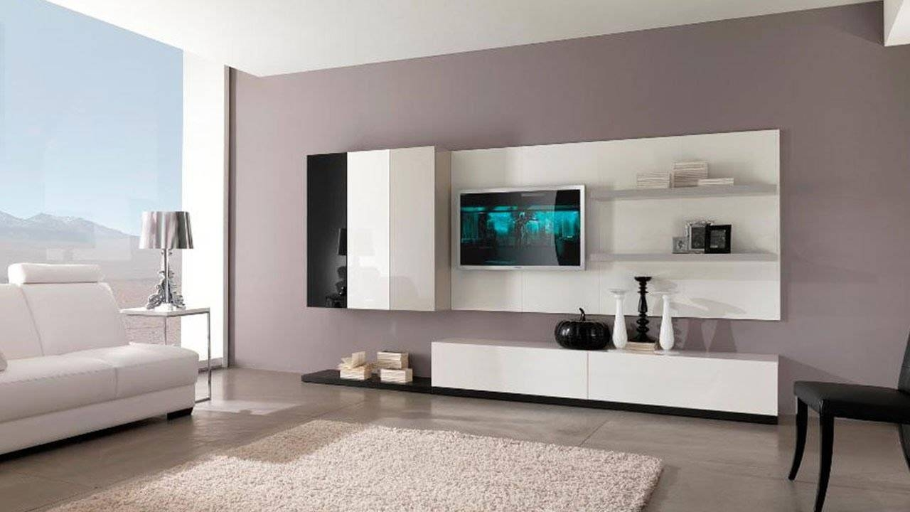 Best Top 30 Modern Tv Cabinet Wall Units Furniture Designs Ideas Pertaining  To On The Wall