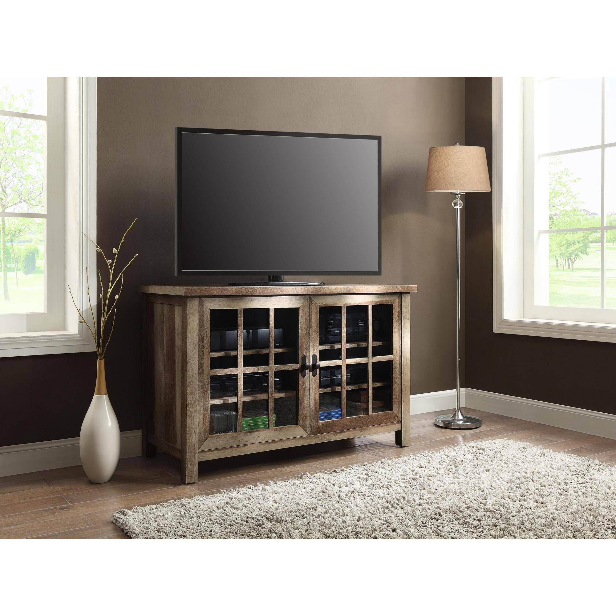 Better Homes And Gardens Oxford And Stand Tv Square Console For Within Square Tv Stands (View 3 of 15)