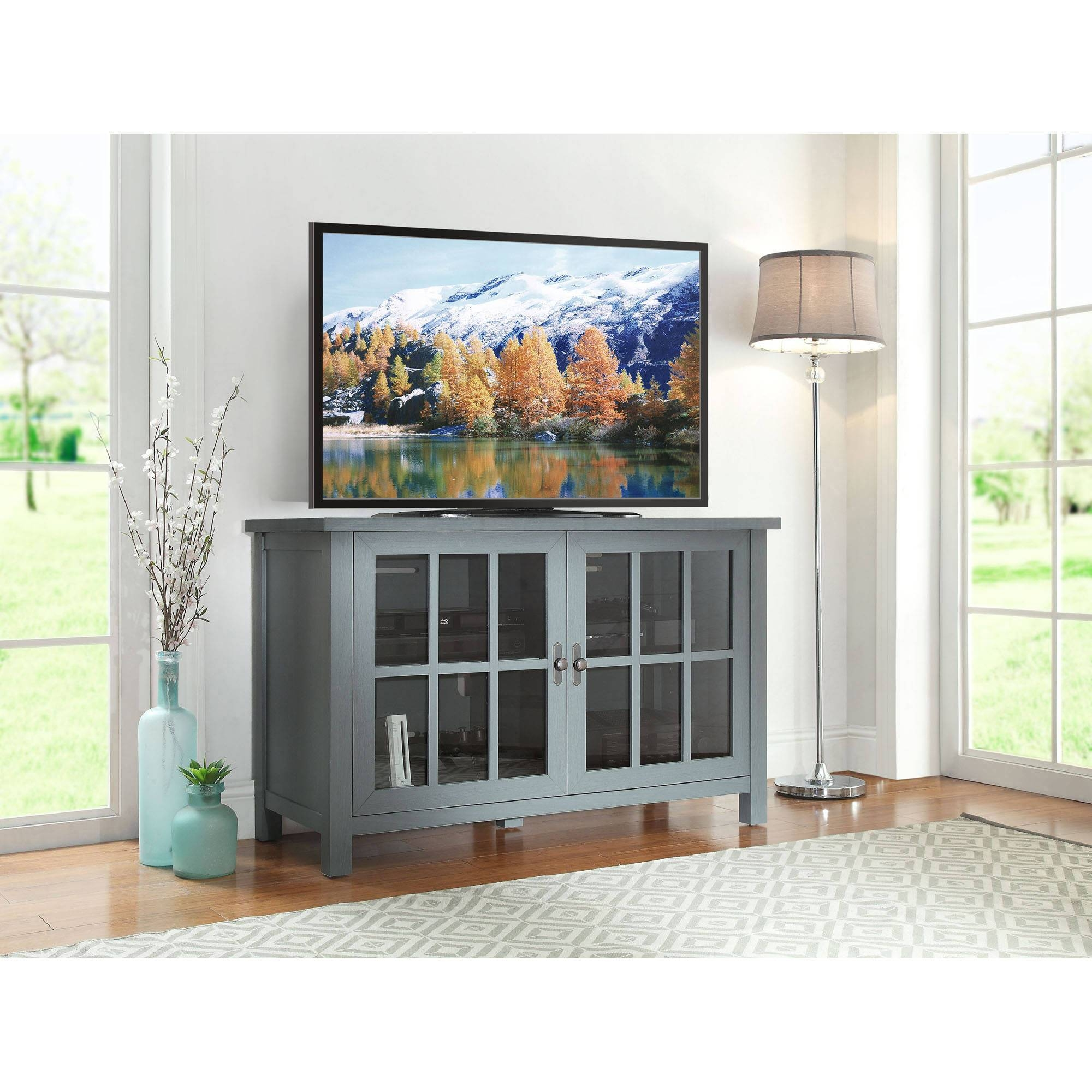 Better Homes And Gardens Oxford Square Tv Console For Tvs Up To 55 Throughout Square Tv Stands (View 5 of 15)
