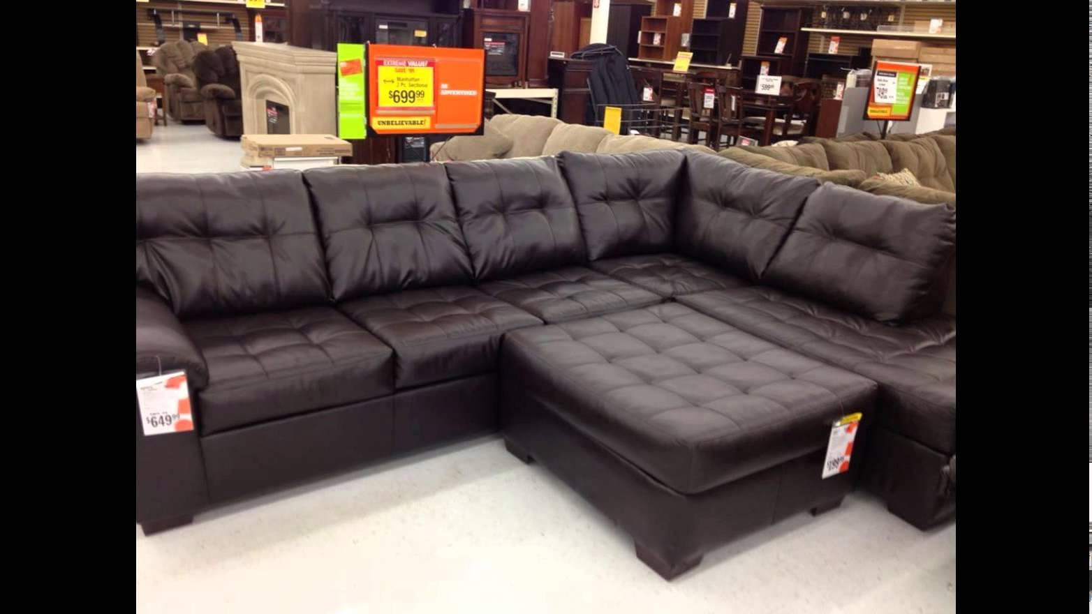 Big Lots Furniture- Big Lots Furniture Sale - Youtube throughout Big Lots Leather Sofas (Image 2 of 15)
