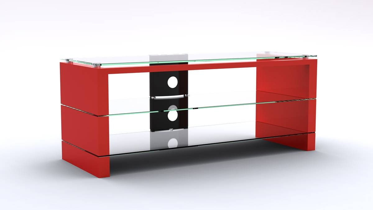 Black And Red Tv Stand #10920 in Red Tv Stands (Image 3 of 15)