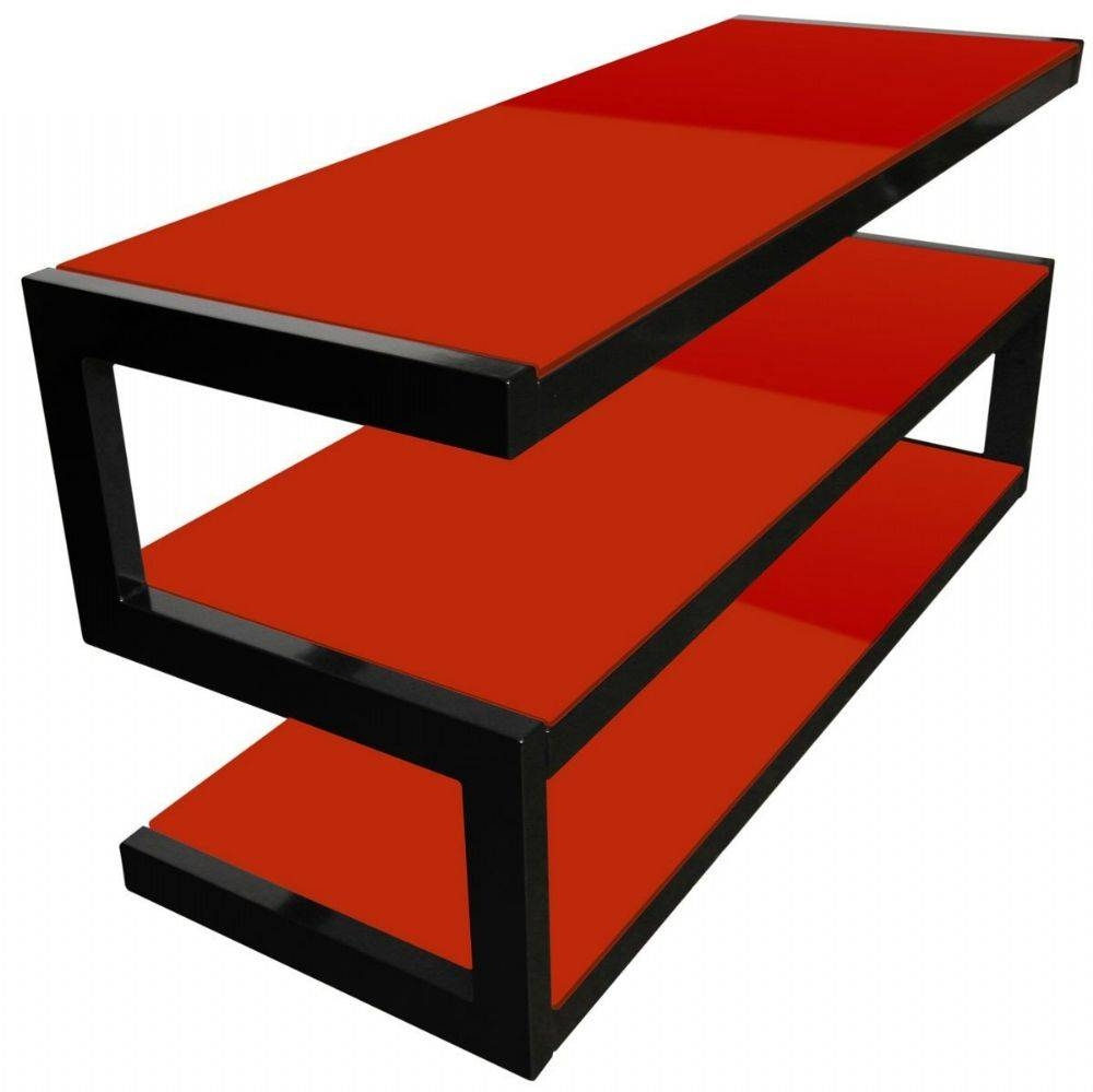 Black And Red Tv Stand #10920 Intended For Black And Red Tv Stands (View 5 of 15)
