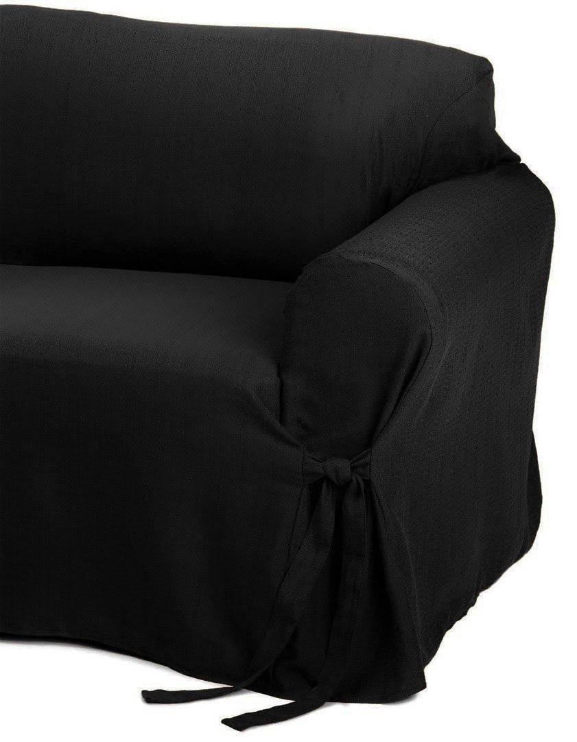 Black Couch In Sofas With Black Cover (Photo 8 of 15)