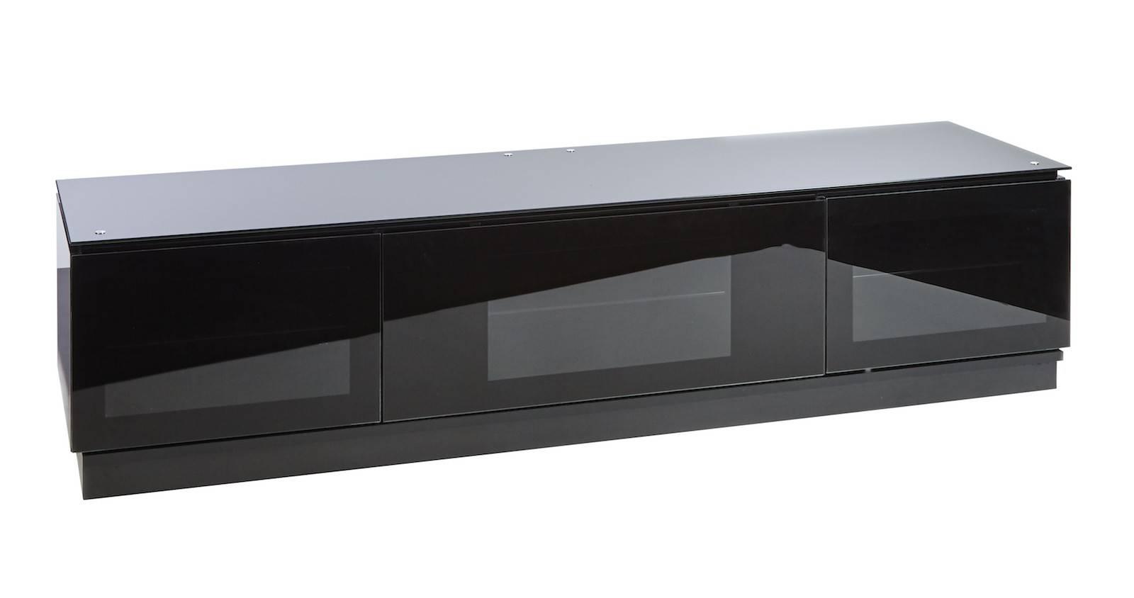 Popular Photo of Shiny Black Tv Stands